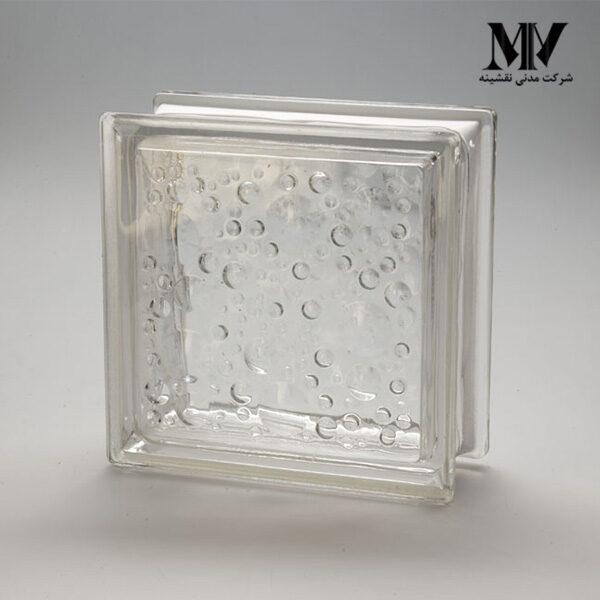 بلوک شیشه ای مدل بارانی کاوه