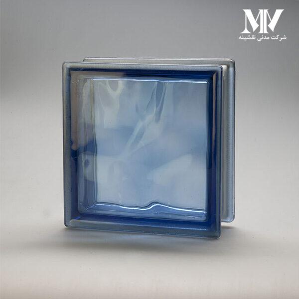 بلوک شیشه ای مدل کلودی آبی کاوه