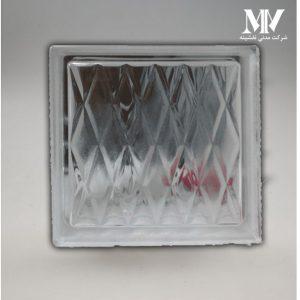بلوک شیشه ای مدل دایامون کاوه