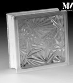 بلوک شیشه ای مدل گل یخ کاوه