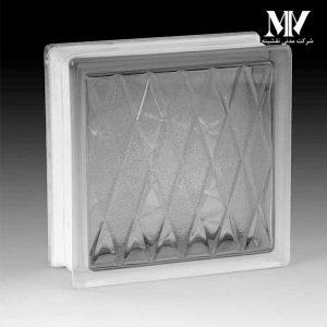 بلوک شیشه ای مدل لوزی کاوه