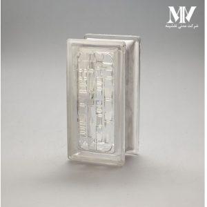 بلوک شیشه ای مدل نیم کوبیسم کاوه
