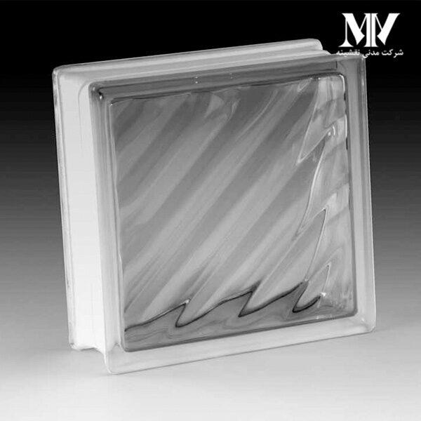 بلوک شیشه ای مدل اریب کاوه