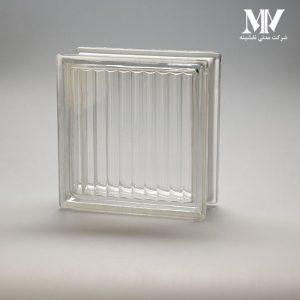 بلوک شیشه ای مدل موازی کاوه