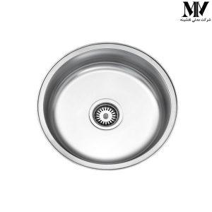 سینک ظرفشویی مدل 170 استیل البرز
