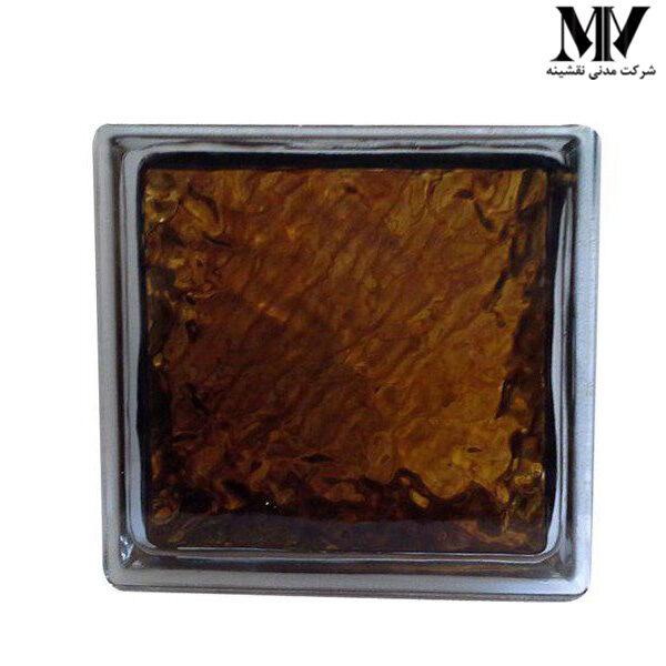 بلوک شیشه ای مدل چکشی برنز کاوه
