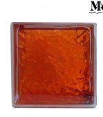 بلوک شیشه ای مدل چکشی نارنجی کاوه