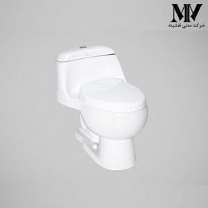 توالت فرنگی لیلیوم کوچک کرد
