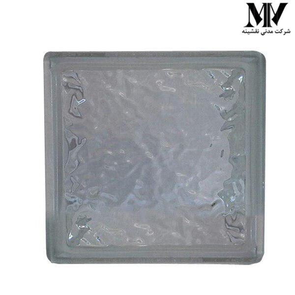 بلوک شیشه ای مدل چکشی برفی کاوه