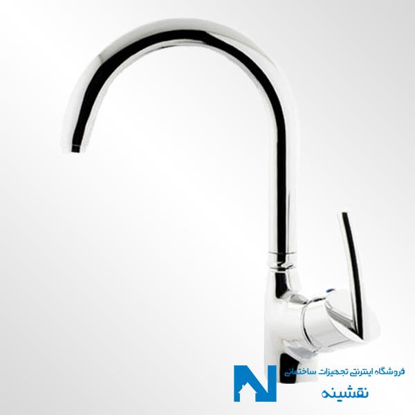 شیر ظرفشویی البرز روز مدل تنسو رنگ کروم