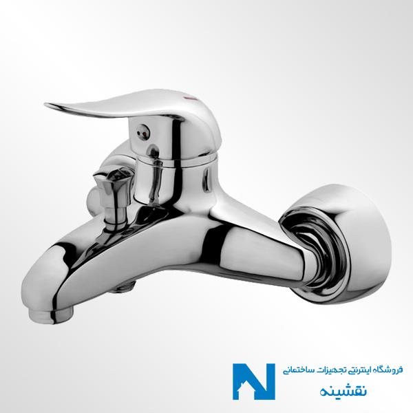 شیر حمام البرز روز مدل داک کروم