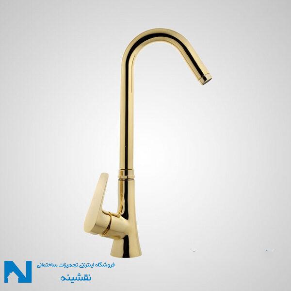 شیر ظرفشویی البرز روز مدل کارن رنگ طلایی