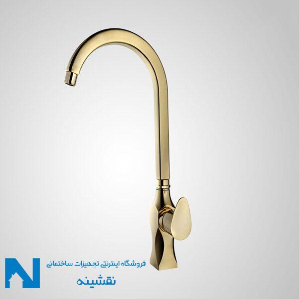 شیر ظرفشویی البرز روز مدل کریستال طلایی