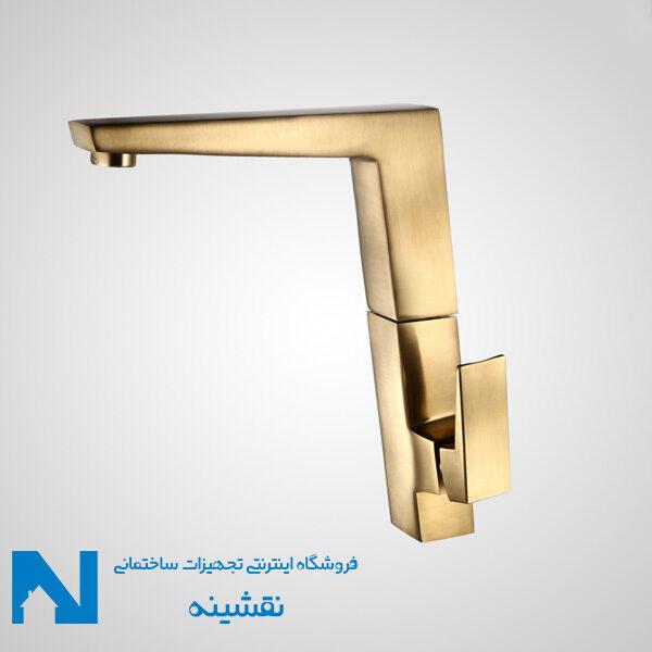 شیر ظرفشویی البرز روز مدل کروز رنگ طلایی