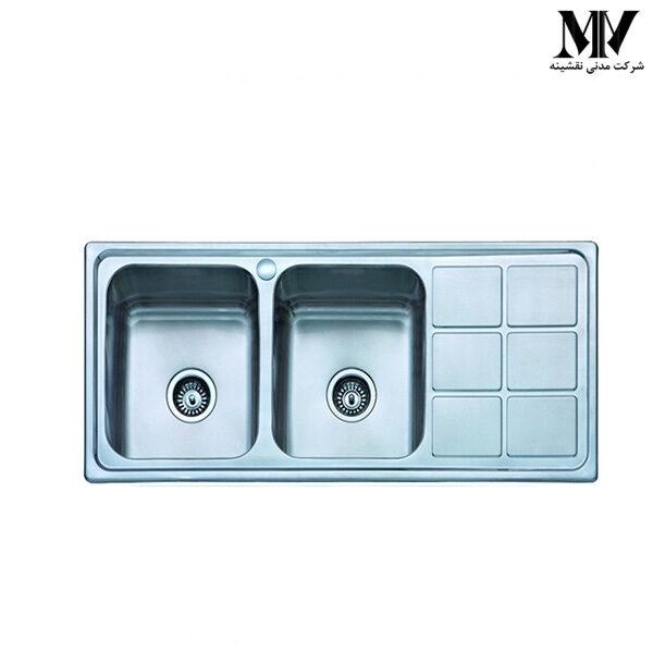 سینک ظرفشویی کد 2102 آروما