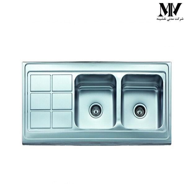 سینک ظرفشویی کد AR 2112 آروما