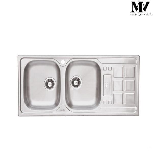سینک ظرفشویی کد D-B 118 داتیس