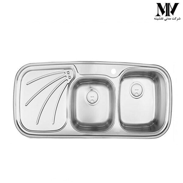 سینک ظرفشویی کد DS 110 درسا