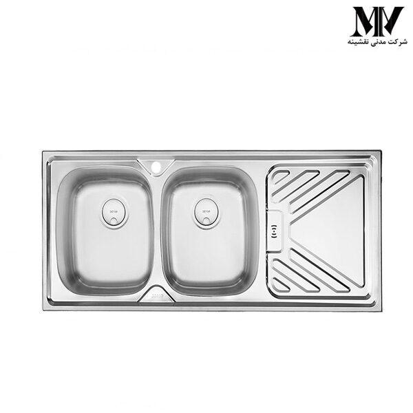 سینک ظرفشویی کد DS 121 درسا