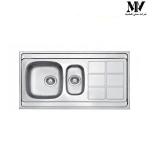 سینک ظرفشویی کد TL 8 لتو