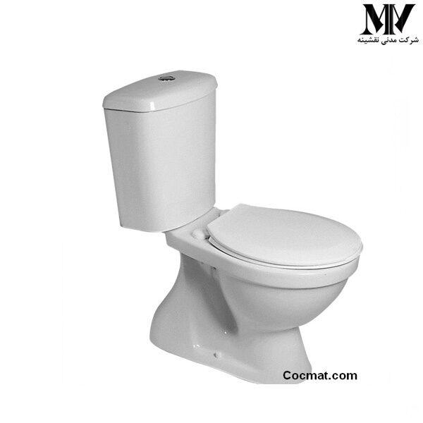 توالت فرنگی دو تکه آرین گلسار فارس