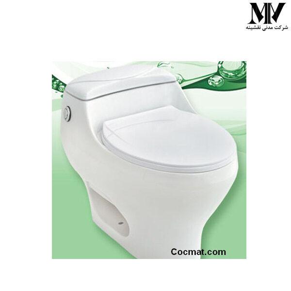 توالت فرنگی آسا کوچک پارس سرام