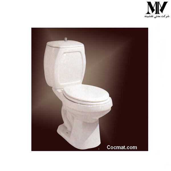 توالت فرنگی دو تکه بنفشه63 مروارید