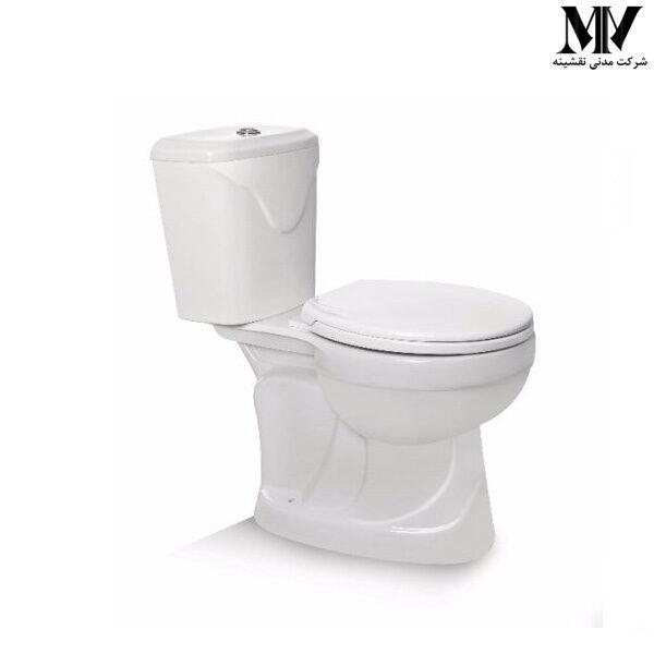 توالت فرنگی دو تکه گلوریا مروارید