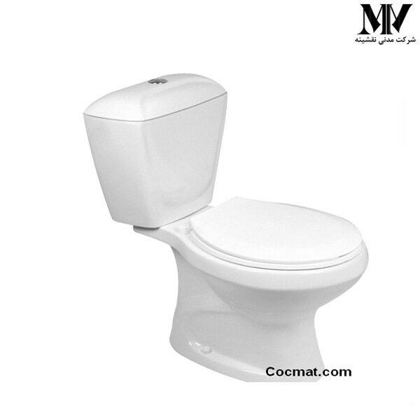 توالت فرنگی دو تکه گلرخ45 گلسار فارس