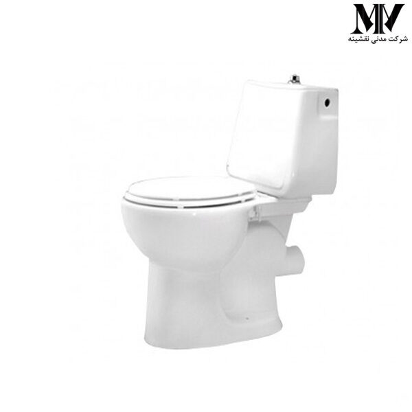 توالت فرنگی دو تکه مرجان70 مروارید