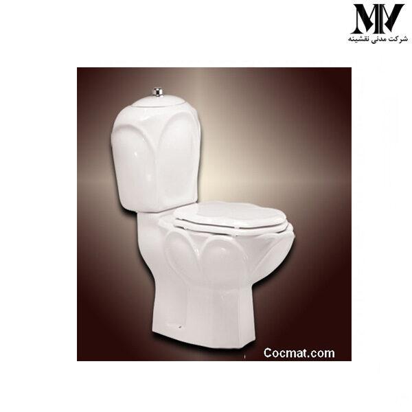 توالت فرنگی دو تکه مروارید66 مروارید