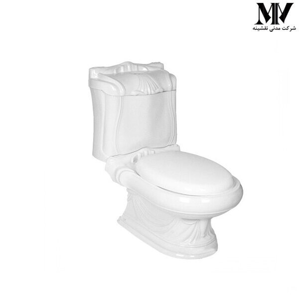 توالت فرنگی دو تکه کوئین گلسار فارس