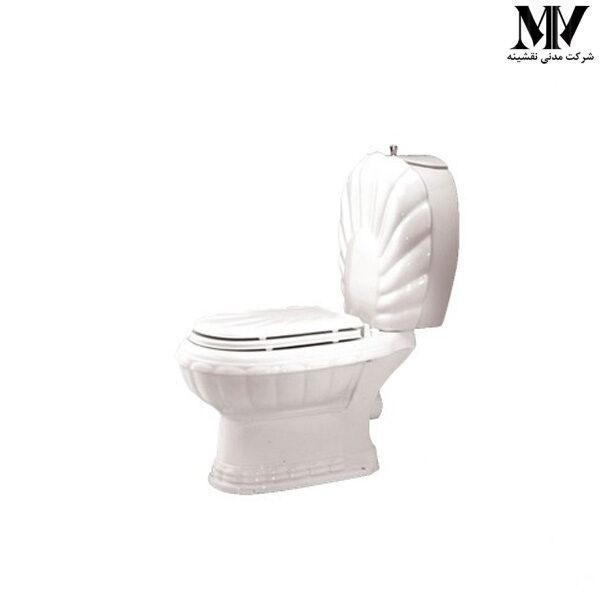 توالت فرنگی دو تکه زمرد72 مروارید