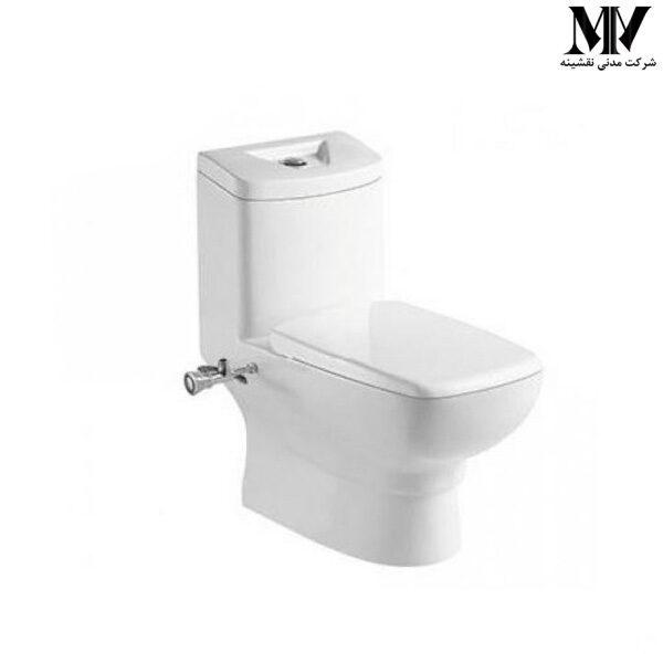 توالت فرنگی L110 بیده دار توتی