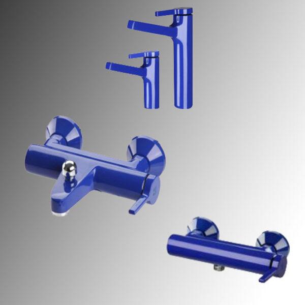 شیرآلات kwc مدل آوا رنگ آبی