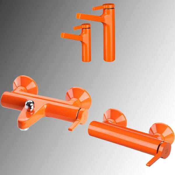 شیرآلات kwc مدل آوا رنگ نارنجی