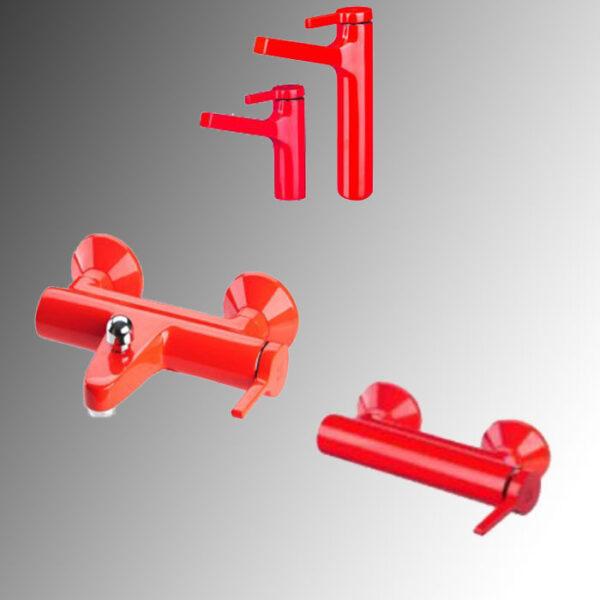 شیرآلات kwc مدل آوا رنگ قرمز