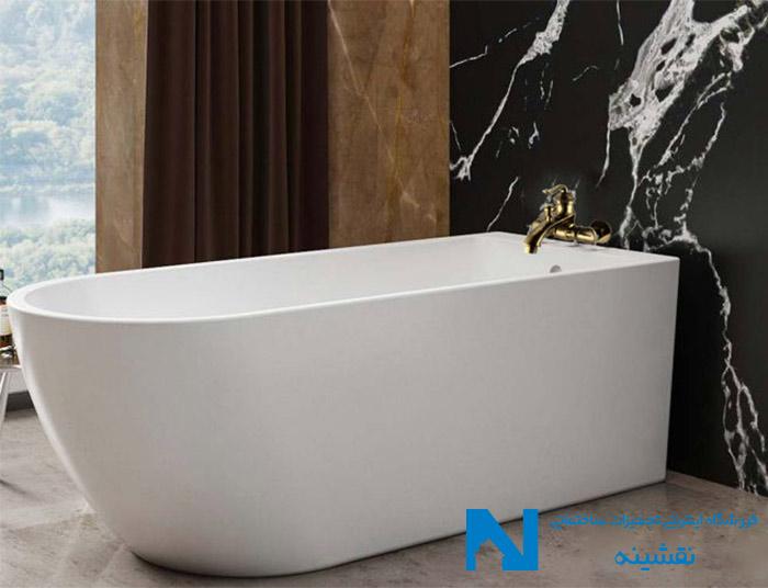 شیر حمام البرز روز مدل اسپیرال برنز