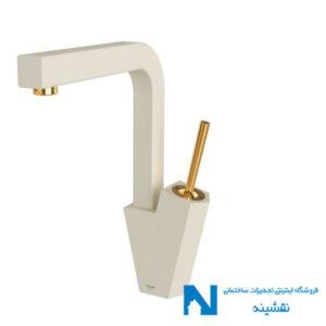 • شیر ظرفشویی شودر مدل تیفانی شیری طلا