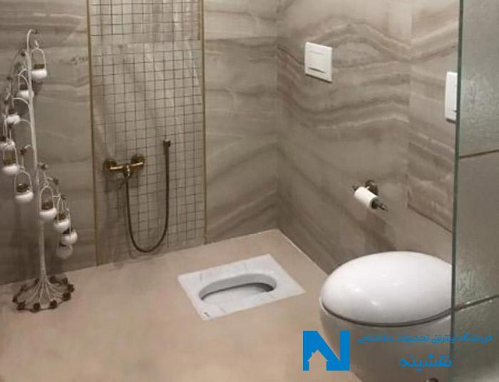 شیر توالت البرز روز مدل اسپیرال برنز