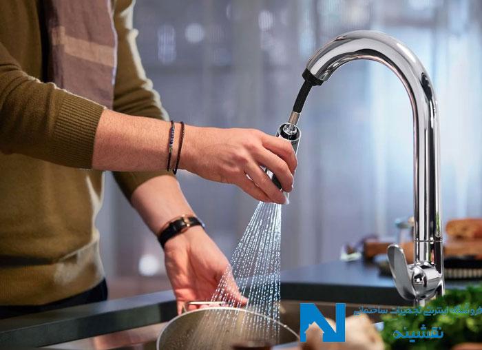 شیرآلات شاوری (شلنگدار) سینک ظرفشویی