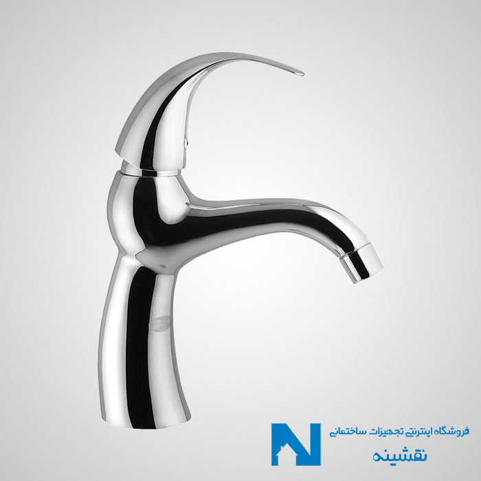 شیر روشویی البرز روز مدل تورینو کروم