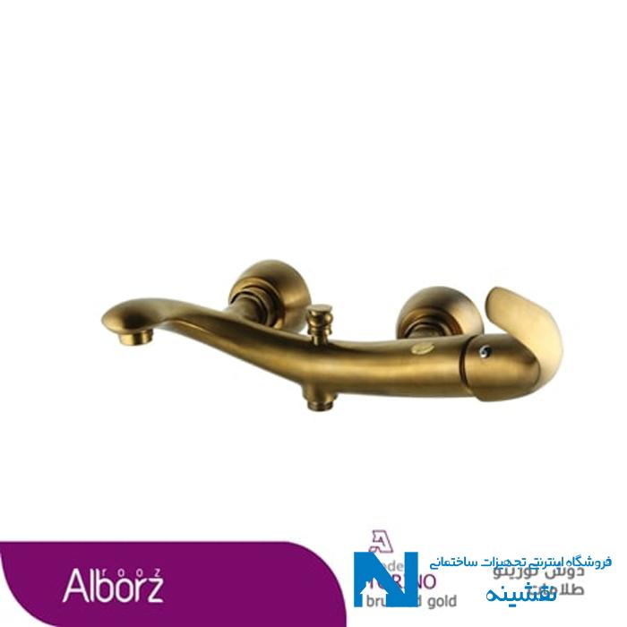 شیر حمام البرز روز مدل تورینو طلامات