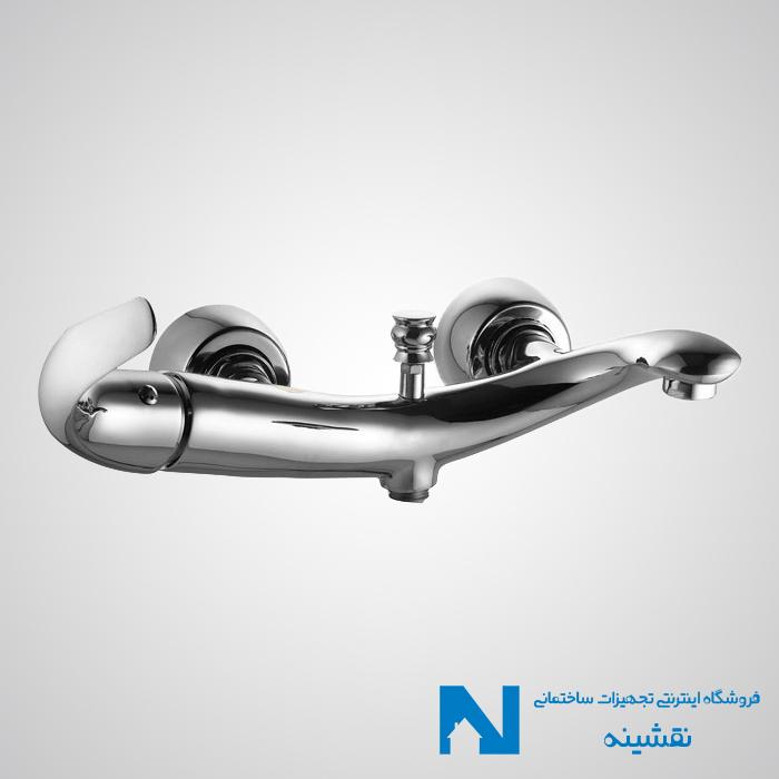 شیر حمام البرز روز مدل تورینو کروم