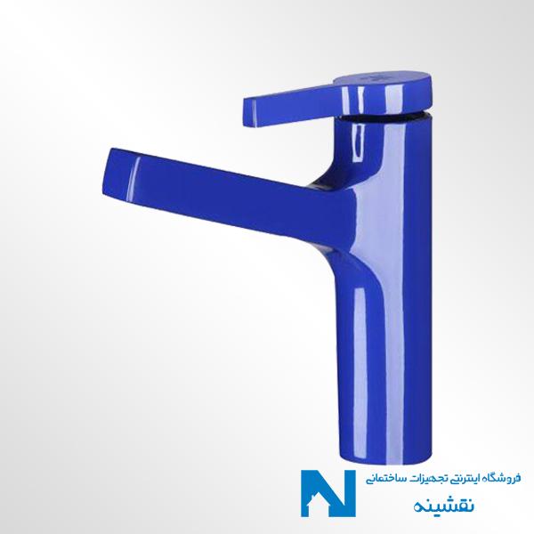 شیر روشویی kwc مدل آوا رنگ آبی