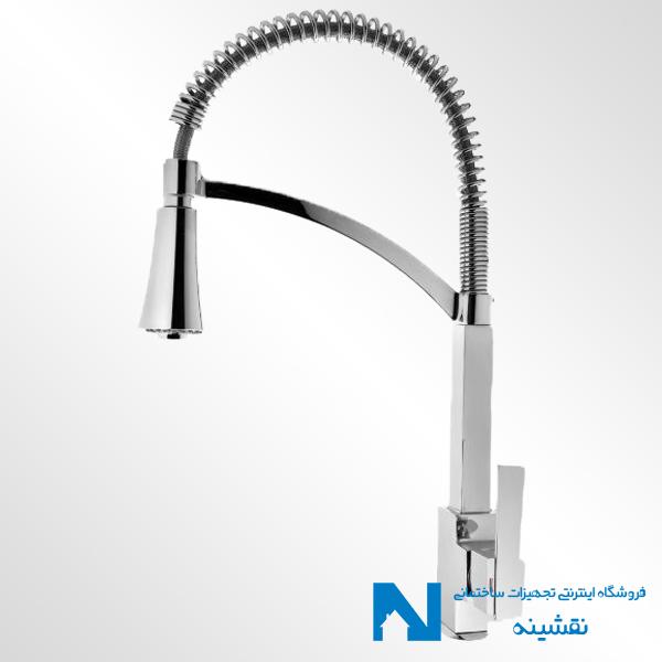 شیر ظرفشویی فنردار البرز روز مدل تنسو