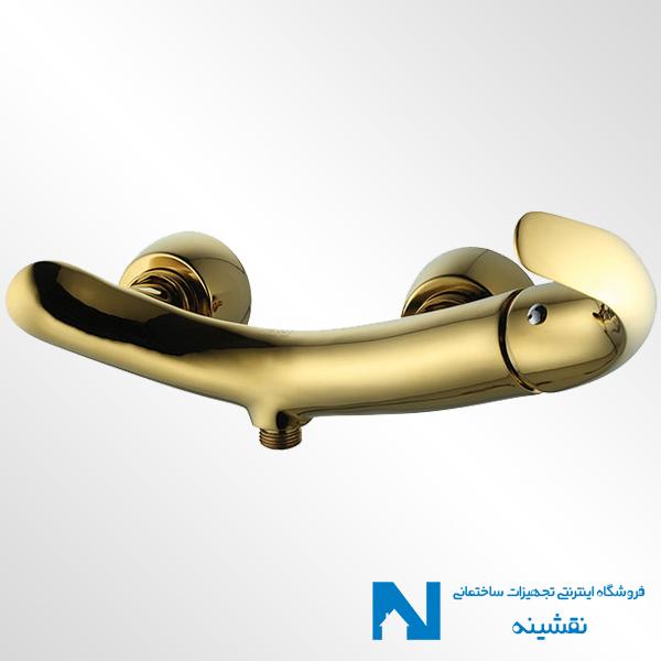 شیر توالت البرز روز مدل تورینو رنگ طلایی