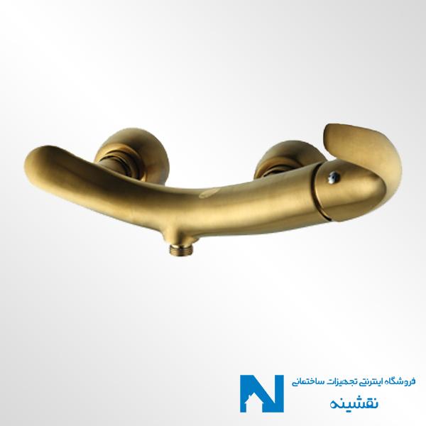 شیر توالت البرز روز مدل تورینو رنگ طلامات
