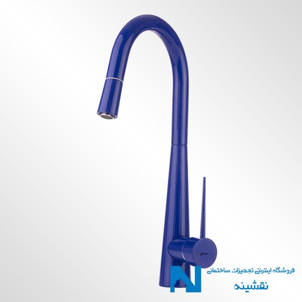 شیر ظرفشویی شاوری شودر مدل ایتن آبی