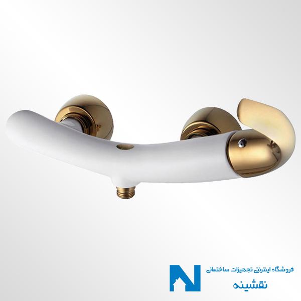 شیر توالت البرز روز مدل جوکر سفید طلایی